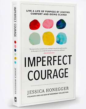 Noonday Imperfect Courage Book by Jessica Honegger, founder of Noonday.