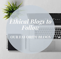 Our Favorite Ethical Shopping Blogs to Follow