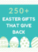2020 Easter Gifts that Give Back