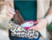 Designed for Joy Leather Tracy Clutch
