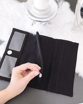 Elegance Restored silk printed wallet. https://www.elegancerestored.com/search?q=wallet