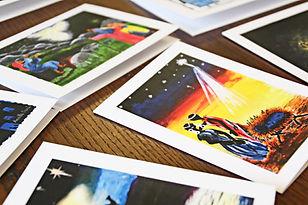 Rafiki Student Art Christmas Cards.