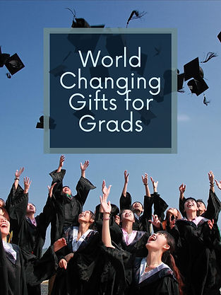 World Changing Gifts for Grads.