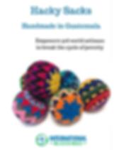 International Blessings Hacky Sacks, handmadein Guatemala.