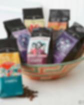 Serrv fair trade coffee.