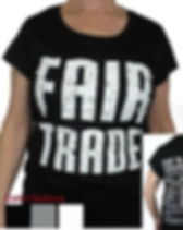 Fair Trade Fusion Fair Trade Tee Shirt from Freeset. Organic, fair trade and fights human trafficking.