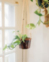 MudLOVE hanging planter. Made in the USA and gives back to provide one week of clean water to someone in the Central African Republic. https://www.mudlove.com/collections/heartland-planters