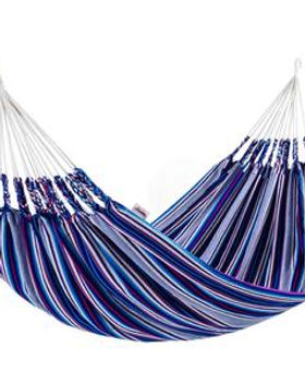 Fair Tribe Woven Double Hammock. Fair Trade.