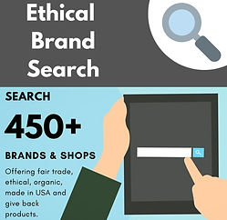 Ethcal Brand Search: Custom Google Search throug 450+ Ethical & Fair Trade Brands and Shops