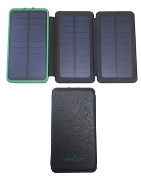 Simple Switch Solar Charger and Battery Bank.