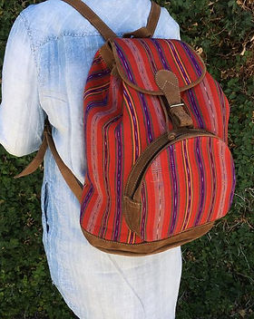 Shop With a Mission fair trade backpack. https://shopwithamission.com/collections/handbags-accessories