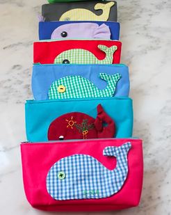 Bought Beautifully Children's Clutch with Whale.