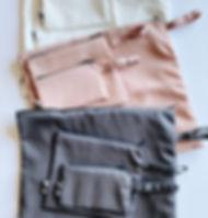 Landmine Design Eco-Friendly Reusable Zip Bags.