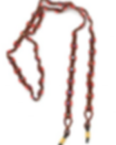 Dunitz & Company fair trade beaded eyeglass leash.