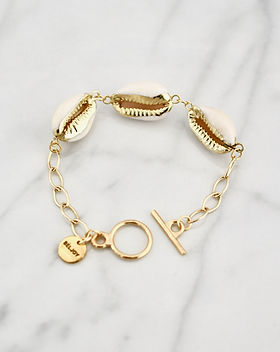 Shop Hope Global Kara Classic Shell Bracelet
