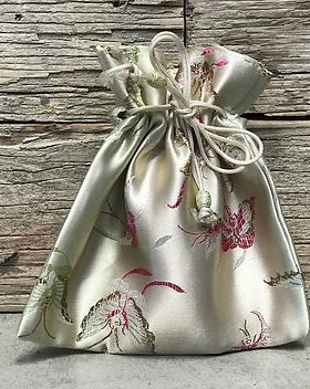 Shop With a Mission Brocade drawstring gift bags. Fair trade and handmade. https://shopwithamission.com/products/brocade-6x6-drawstring