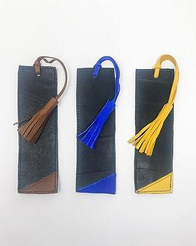 hope.market Leather & Inner Tube Bookmark