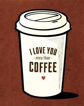 Give a Damn Goods Coffee Love Card.