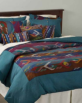 Serrv fair trade bedding dhaka weave. https://www.serrv.org/category/bedding