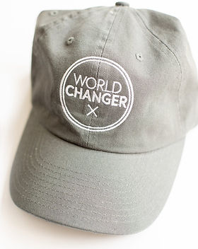 Mercy House Global World Changer Hat. Fair Trade. https://mercy-house.myshopify.com/collections/world-changer