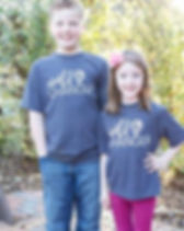 Mercy House kids t- shirts for the little world changers.