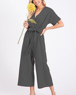 Atonement Design Black Linen Jumpsuit. Ethically-made. https://atonementdesign.com/collections/clothing