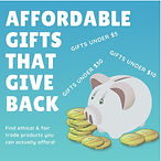 Affordable Gifts that Give Back New Colo