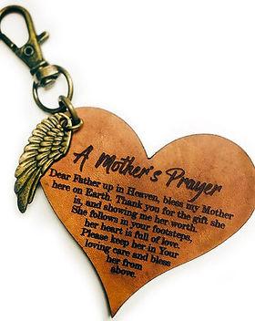 Maya Collection A Mom's Prayer Key Chain