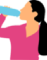 Woman Drinking Water Bottle Pixabay Grap