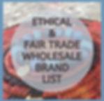 Social Good & Fair Trade Wholesale Brands List