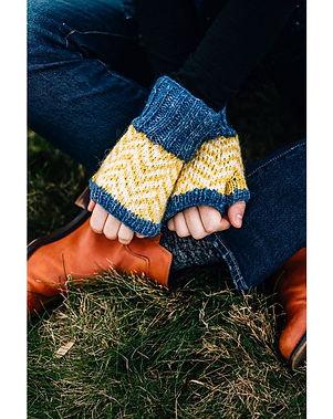 Ten Thousand Villages Winter Wear Snow Days Fingerless Fair Trade Gloves