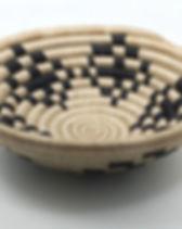 Sparrow Studio woven basket bowl. Handmade in Rwanda. http://www.thesparrowstudio.com/baskets/