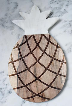 Bought Beautifully Mango Wood Pineapple Cutting Board