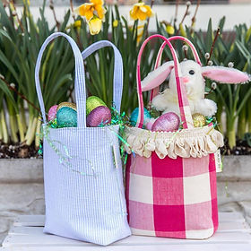 Renew Project Easter mini totes. Handmade by refugrees. https://www.renewproject.org/search?q=mini+tote