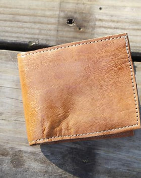 2nd Story Goods men's wallet. Ethically-made in Haiti.