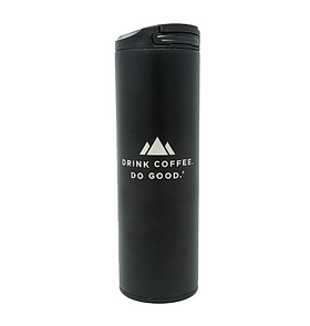 Land of a thousand Hills Drink Coffee Do Good Stainless Steel Coffee Tumbler
