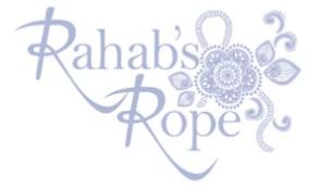 Rahab's Rope Logo