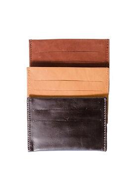 Karama Collection leather card case.