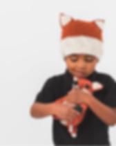 Krochet Kids children's fox beanie. https://www.krochetkids.org/products/childrens/