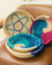 Hands Producing Hope Tray Basket. Ethically handmade. http://www.handsproducinghope.org/shop/?category=Home+Goods