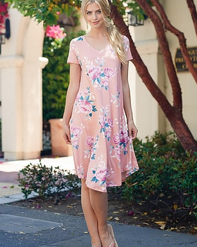 Amma's Umma Anabelle swing dress. Made in USA. https://ammasumma.com/collections/dresses
