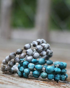 2nd Story Goods bead wrap bracelet. Handmade in Haiti. https://www.2ndstorygoods.com/collections/all-the-goods/jewelry