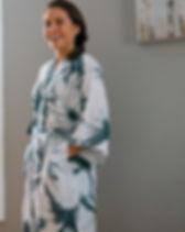 Berbeda Kimono Lounge Robe.