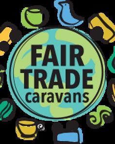 Fair Trade Caravans logo. Fair trade fundraisers for schools.