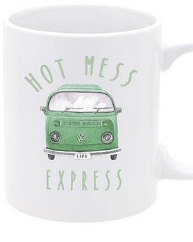 Give a Damn Goods Hot Mess Express Mug.
