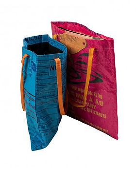 freedom's promise eco-friendly tote made from recycled rice bags! http://www.freedomspromise.org/product-category/rice-bags/