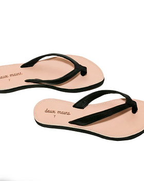 Deux Mains Jolina Sandals. Ethically made in Haiti.