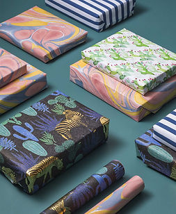 Noonday with Julie Godshall Eco-Friendly Fair Trade Christmas Wrapping Paper.