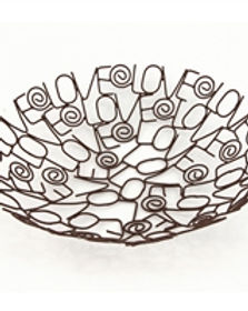 Gifts With a Cause wire love bowl. Fair trade. https://www.giftswithacause.com/Fair-Trade-Bowls-s/1828.htm