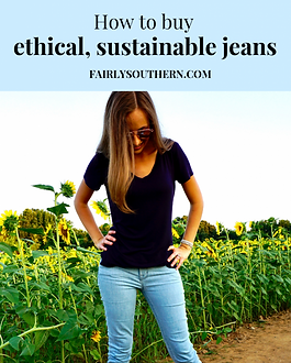 Fairly Southern Ethical Jeans Guide https://fairlysouthern.com/how-to-buy-ethical-sustainable-jeans